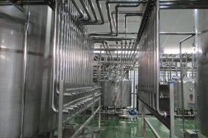 لوله کشی خط تولید مواد غذایی